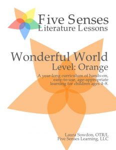 Wonderful World cover art #5SLL #5sensesLL #normalisoverrated #homeschool #homeschoolkindergarten #neurodiversehomeschooling #adhdhomeschooling
